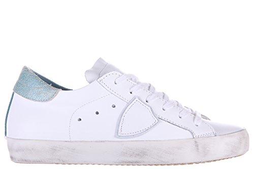 Philippe Model scarpe sneakers donna in pelle nuove bianco EU 35 CLLD VL14