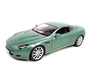 Aston Martin DB9 Coupe Light Green 1:18 Scale Diecast Model By Minichamps