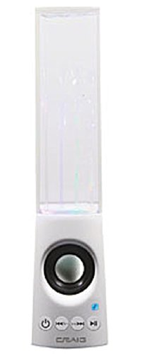 Craig Cma3563 Portable Water Dancing Speaker With Bluetooth Wireless Technology