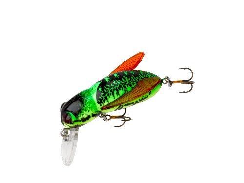 Rebel bumble bug fishing lure fire bug sporting goods for Rebel fishing lures
