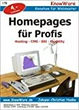 Homepages für Profis - Hosting, CMS, SSI, Usability - Johann-Christian Hanke
