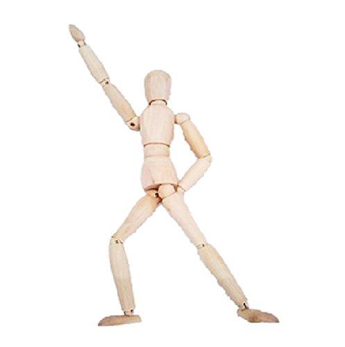 【エスネット】S-net デッサン 人形 ハンド モデル 木製 男性 (人形)
