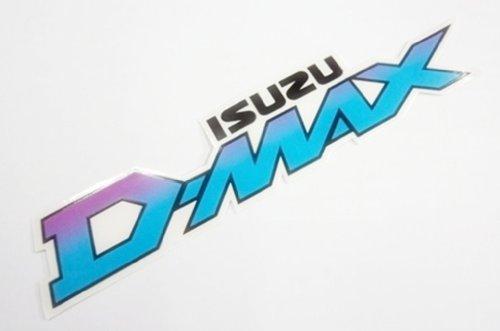 D-Max Isuzu Flat Racing Bike Car Bumper Stickers Decals