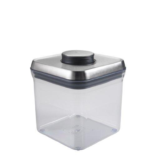 Oxo Steel Pop 2-2/5-Quart Square Container