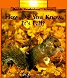 H.D.Y.K. It's Fall? Pbk (Rookie Read-About Science)