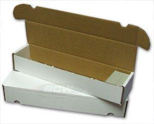 BCW-930-Count-Corrugated-Cardboard-Storage-Box-Baseball-Football-Basketball-Hockey-Nascar-Sportscards-Gaming-Trading-Cards-Collecting-Supplies