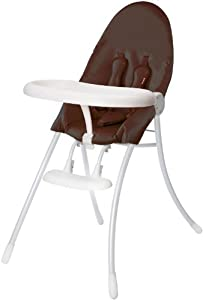 Bloom Nano - White Frame & Henna Brown Seat