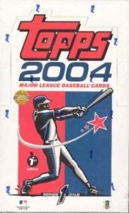 2004 Topps Series 1 First Edition Baseball Cards Unopened Hobby Box by Topps