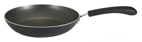 T-fal E9380274 Professional Total Nonstick Oven Safe Thermo-Spot Heat Indicator 8-Inch Fry Pan / Saute Pan Dishwasher Safe Cookware, Black