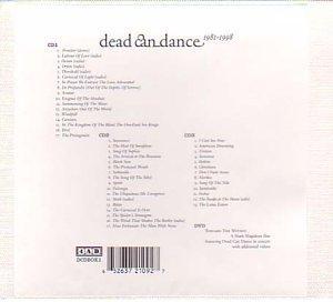DEAD CAN DANCE - Dead Can Dance - 1981-1998 - Zortam Music