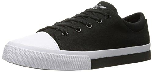 Creative Recreation Men's Forlano Fashion Sneaker, Black/White, 12 M US
