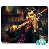 Art bbc violins sherlock holmes artwork benedict cumberbatch watches virtuoso alice x zhang sherlock bbc mouse pad computer mousepad (Full Violins compare prices)