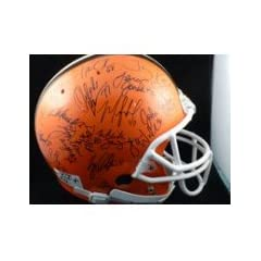 Signed Browns, Cleveland (1999) Proline Helmet by the 1999 Cleveland Browns Team... by Powers Collectibles