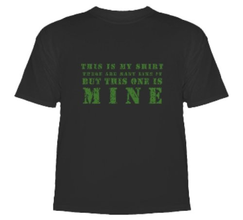 Full Metal Jacket T-Shirt (Rifle-Prayer, Stanley Kubrick) T-Shirt Black X Large