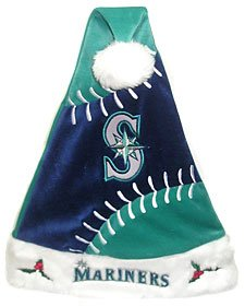 Seattle Mariners Santa Hat - Color Block by CSY