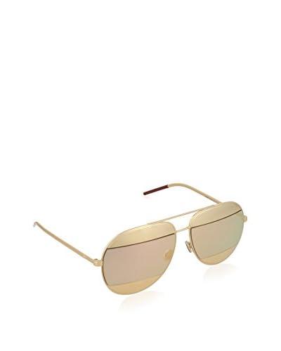 Christian Dior Gafas de Sol DIORSPLIT1 0J_000 (59 mm) Dorado