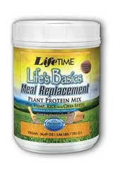 Life'S Basics Meal Replacement Vanilla Lifetime 1.66 Lb Powder