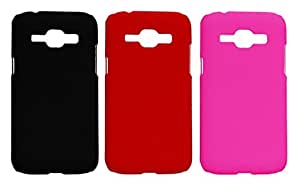 Winsome Deal 3 Pieces of Exclusive Quality Hard Back Cover Case For Samsung Galaxy J1 SMJ100H
