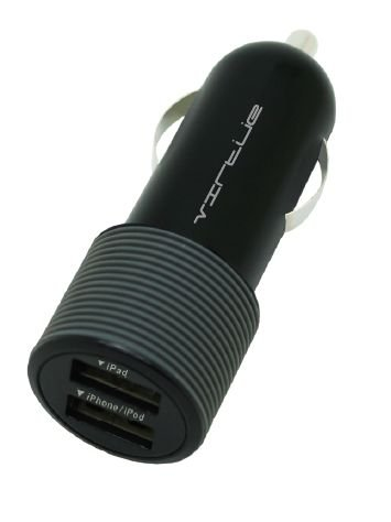 Virtue 2.4A Dual USB Port Car Charger