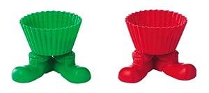 Wilton Santa Boot Silly Feet Set of 4