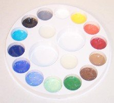 16 COLOR PAINT WHEEL Snazaroo Face Painting Pallet