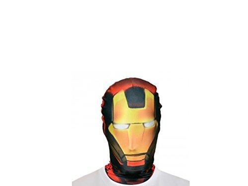 Generico-ma1433-Passamontagna Morphsuit-Iron Man taglia unica