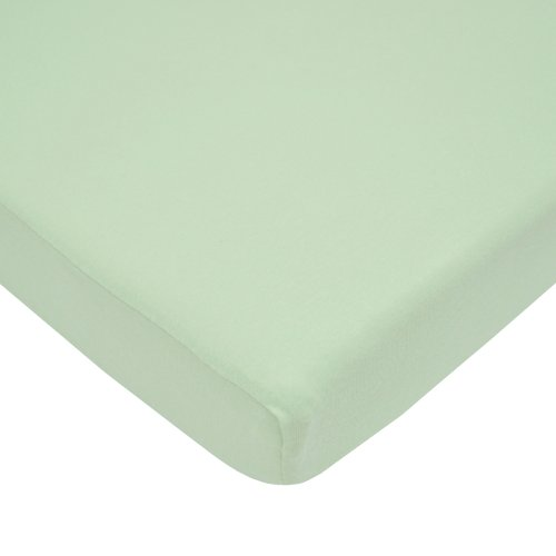 New American Baby Company 100% Cotton Value Jersey Knit Fitted Pack N Play Sheet, Celery