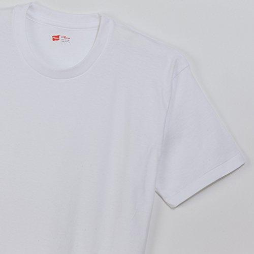 (ヘインズ)Hanes Tシャツ アカラベル クルーネック 3枚組 (2016年モデル) Hanes