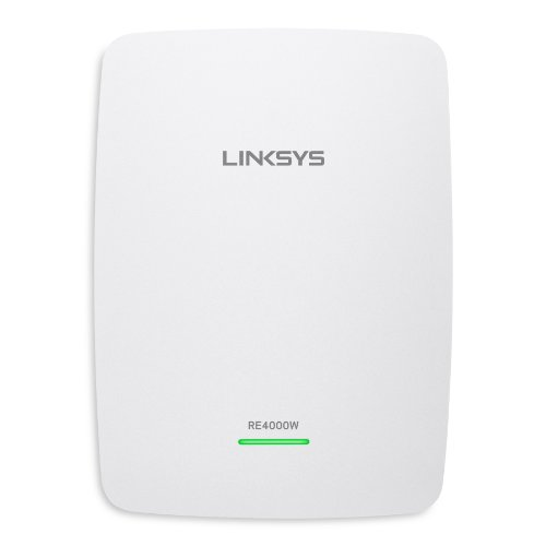Linksys RE4000W N600 PRO Wi-Fi Range Extender (RE4000W) (Best Wifi Range Extender N600 compare prices)