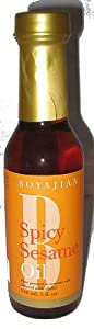 Boyajian Spicy Sesame Oil 5 Ounce Bottle from Boyajian