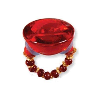 цена на Orna Lalo Red Half Sphere Ring