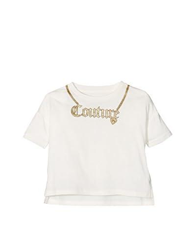 Juicy Couture Camiseta Manga Corta Blanco Roto