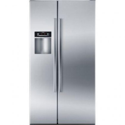 bosch 22 1 cu ft counter depth side by side refrigerator. Black Bedroom Furniture Sets. Home Design Ideas