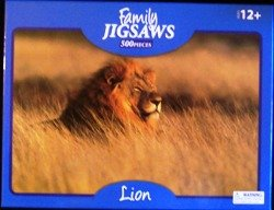 Family Jigsaws the Lion 500 Piece Puzzle