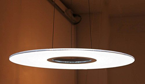 "Brand New 20""Unique Original Donut Led 20W Edge Lit Panel Pendant Lamp Light 5000K Cool White Ceiling Light Fixture Made In Korea back-414968"
