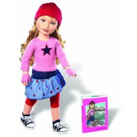 Karito Kids Zoe From Nyc, USA World Collection Doll/Book Starter Set