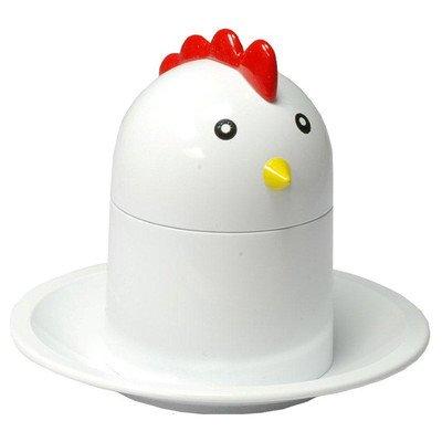 G s d haushaltsgeräte 01055 toqueur à oeuf en «poulet» design lot de 4 coquetiers