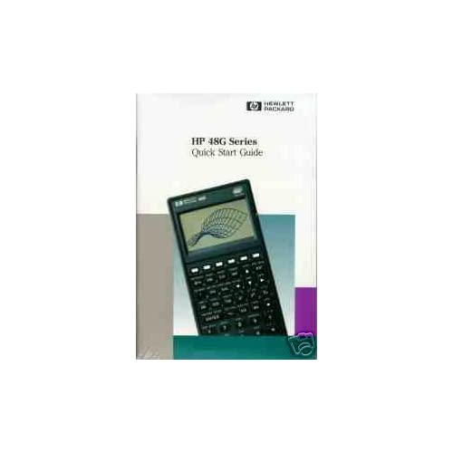 Hp 48G Series Users Guide 8TH Edition Hewlett Packard