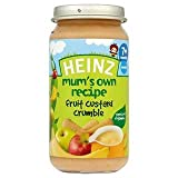 Heinz Mum's Own Recipe Fruit Custard Crumble 7+ Mths 200G