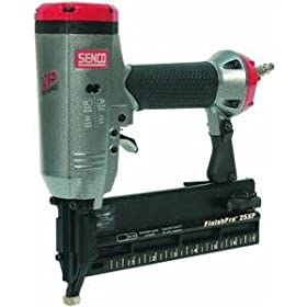 Senco FinishPro 25XP 5/8-Inch to 2-1/8-Inch 18 Gauge Brad Nailer with Case