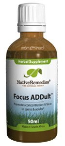 Focus ADDult 1.7 fl oz by Native Remedies