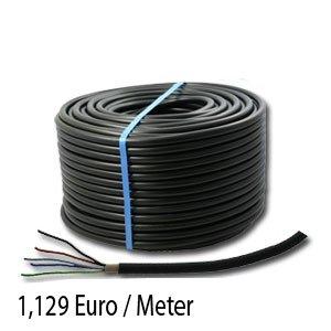 Erdkabel Schwarz NYYJ 3x2,5 Starkstromkabel, 100 meter  BaumarktKundenbewertung und Beschreibung