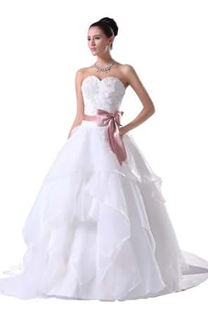 Herafa Wedding Dress Elegant NOw35045 Amazon Fashion
