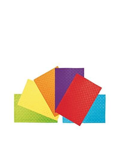 VILLA D'ESTE HOME Set Mantel Individual 6 Uds. Modern Multicolor
