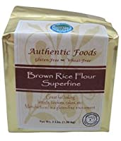 Authentic Foods Brown Rice Flour, Superfine - 50 lb by Authentic Foods