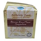 Authentic Foods Brown Rice Flour, Superfine - 50 lb