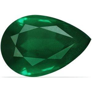24.34 Carat Loose Emerald Pear Cut (GIA Certificate)