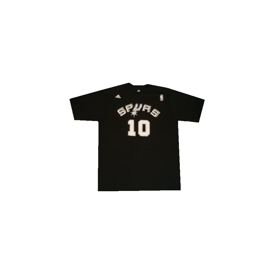 81bbc3bf758 San Antonio Spurs Dennis Rodman Throwback Adidas T Shirt on PopScreen