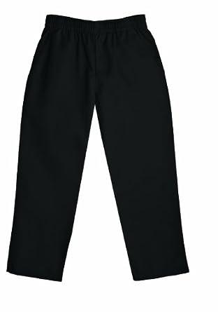 Classroom Little Boys' Uniform Pull On Pant,Black,4