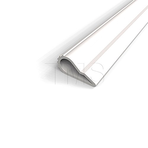 Self Adhesive Weatherstrip, .375'' Wide Silicone Teardrop (Adhesive Weatherstrip Door compare prices)